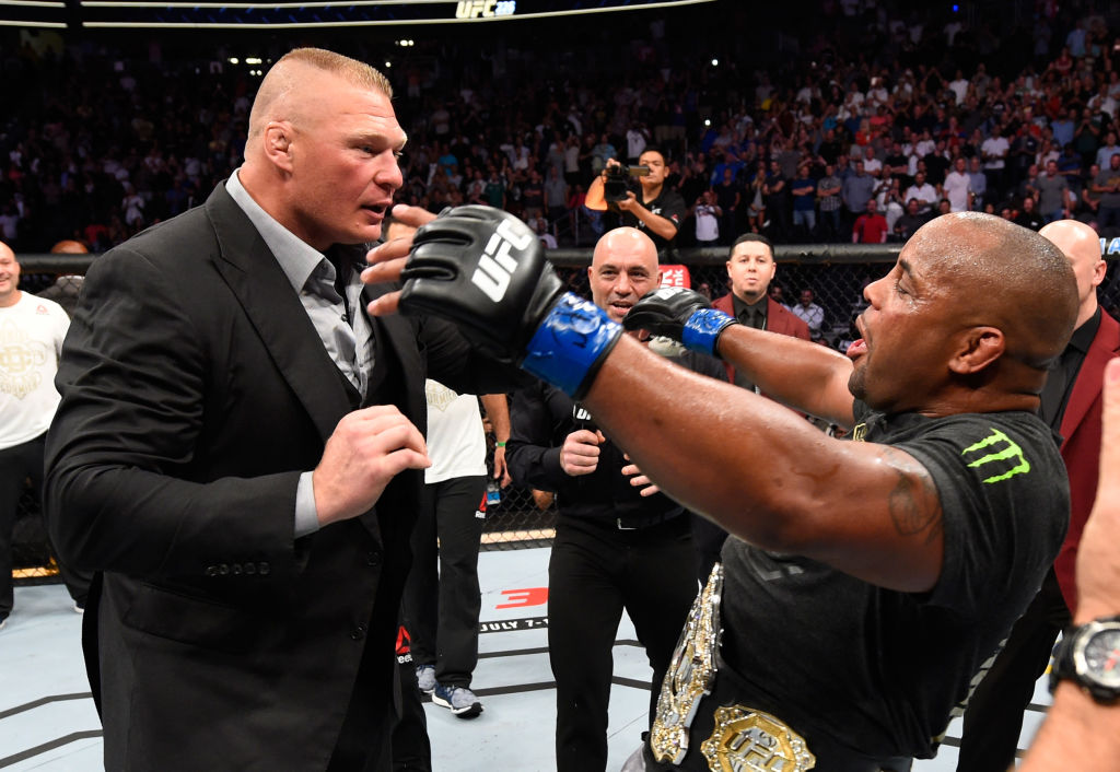 UFC champion Daniel Cormier says fight with Brock Lesnar is 'up in the air'