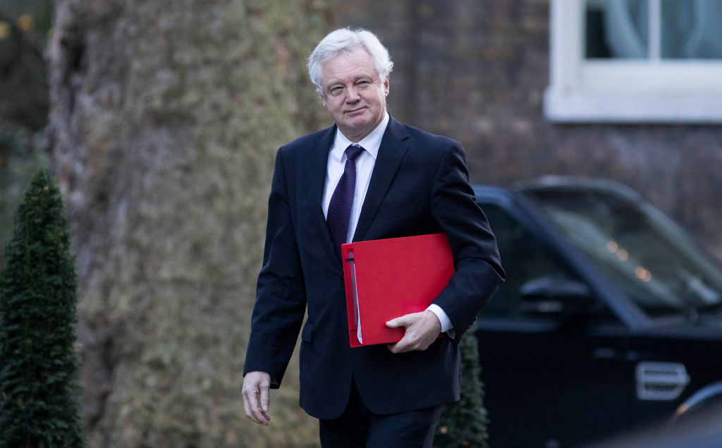 David Davis' departure from government today has caused ripples in Theresa May's Brexit plans
