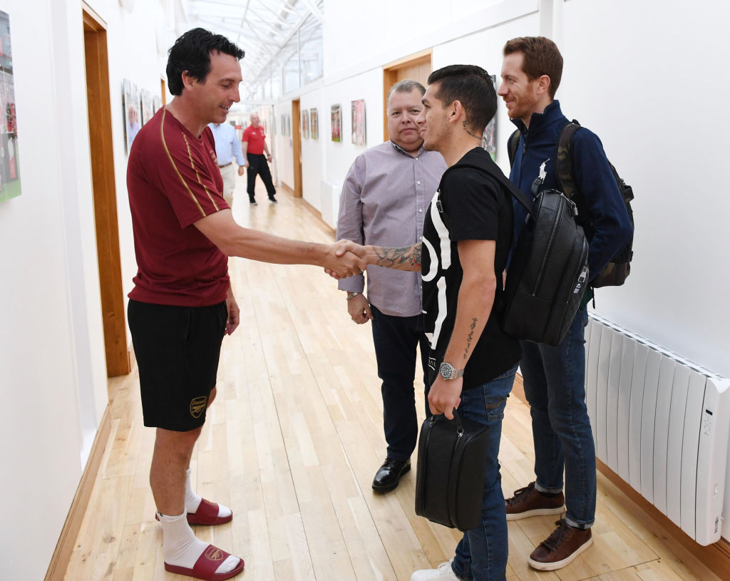 Unai Emery explains why Arsenal have signed Lucas Torreira