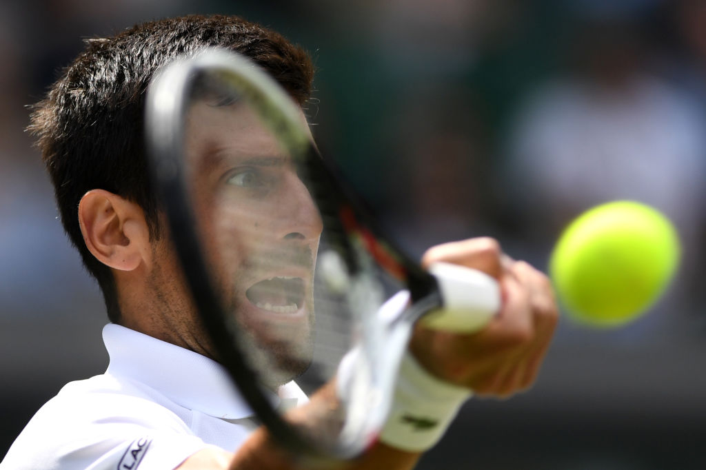 Novak Djokovic reacts to Wimbledon relegating Roger Federer to Court 1 before shock exit