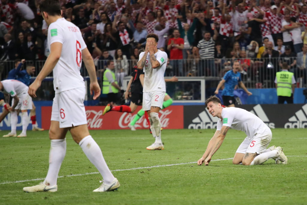 England player ratings as Gareth Southgate's side suffer defeat to Croatia in World Cup extra time