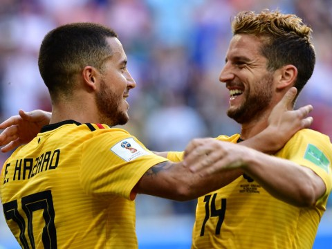 Eden Hazard reveals chats with Dries Mertens about new Chelsea boss Maurizio Sarri