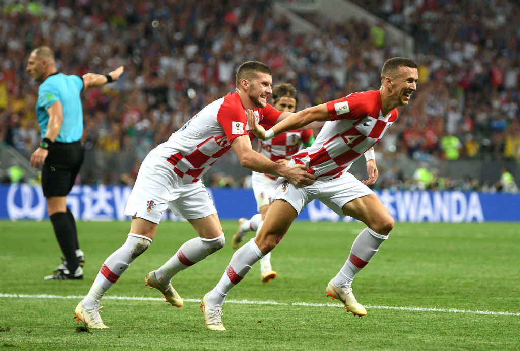 Manchester United fans beg Jose Mourinho to sign Ivan Perisic after Croatian's wonder goal against France