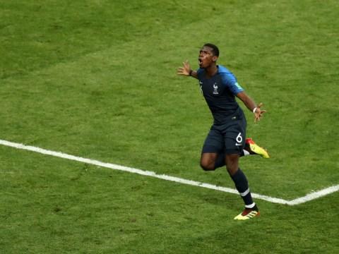 Patrice Evra slams Paul Pogba's 'b******t' critics after World Cup final goal