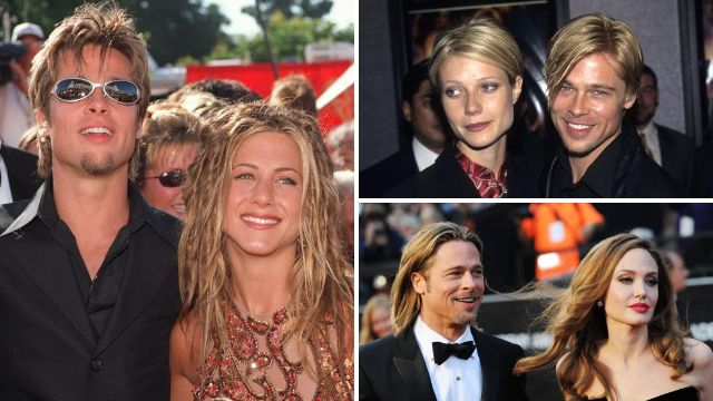 Brad Pitt models himself on whoever he is dating – and here's the proof