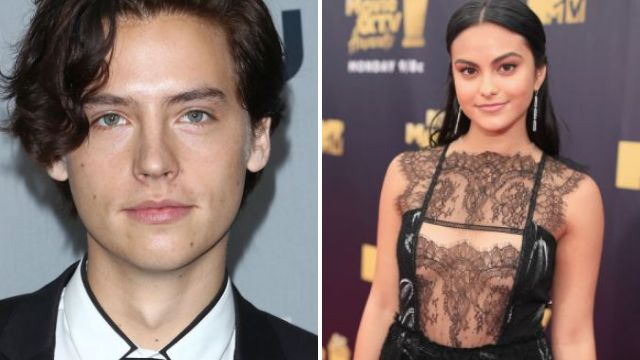 Riverdale's Cole Sprouse and Camila Mendes bonded over being sweaty because why not?