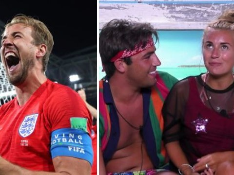National pride is restored as Love Island's Jack and Dani declare love for each other and England win World Cup match