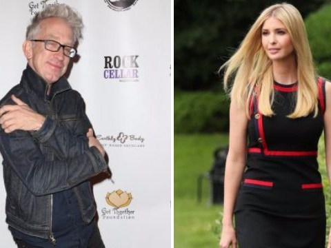 Video of Andy Dick being dragged off Jimmy Kimmel for groping Ivanka Trump resurfaces after comedian charged with sexual harassment