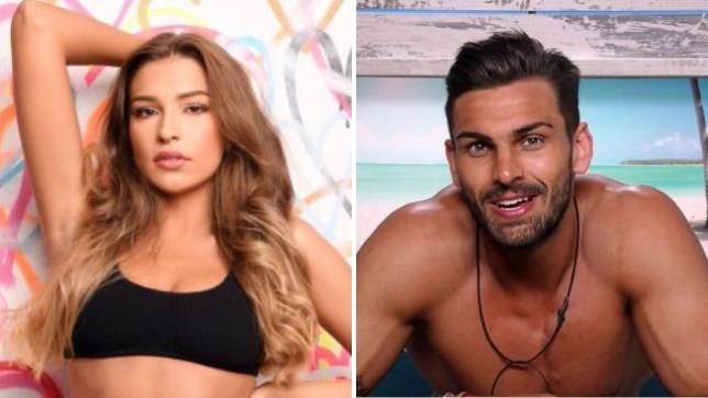 Zara and Adam have finally had a post Love Island meet-up (Picture: ITV)