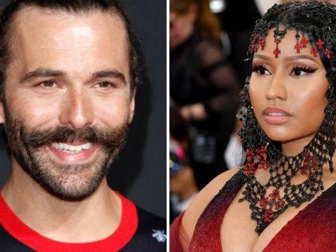 Queer Eye's Jonathan Van Ness blasts Nicki Minaj over Russia's Harper's Bazaar cover