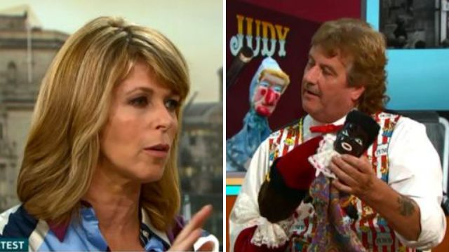 Kate Garraway removes 'racist' doll from guest in heated debate to ban Punch and Judy: 'That is really offensive'