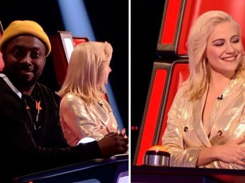 Pixie Lott asked if there's cheese in a cheesecake on The Voice Kids and Will.i.am's reaction is priceless