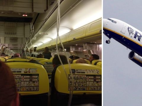 Dozens of Ryanair passengers taken to hospital after plane loses cabin pressure mid-air