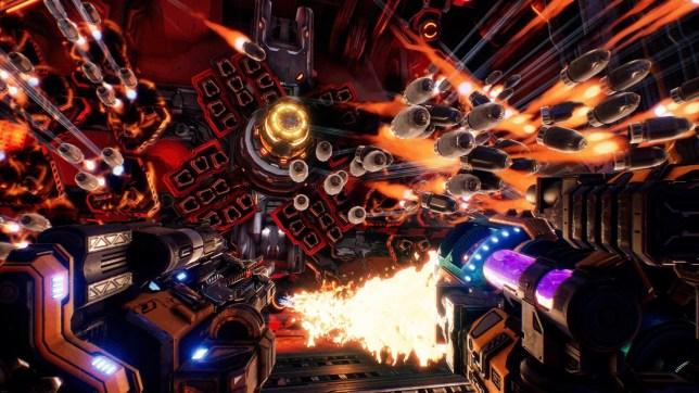 Mothergunship (PS4) - a lot of bullets needs a lot of guns