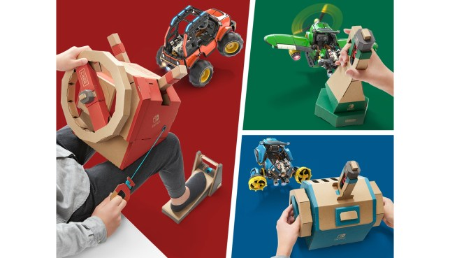 Toy-Con 03: Vehicle Kit - those controllers are going to come in handy