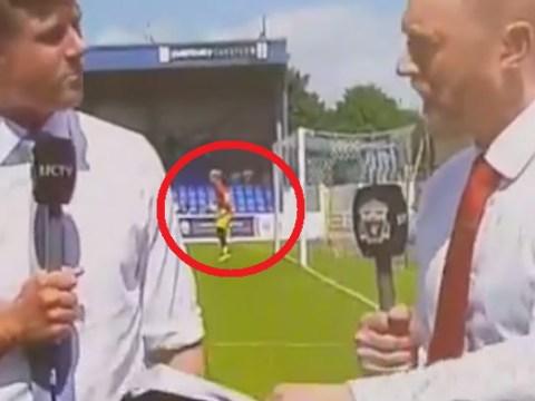 Loris Karius fumbles ball into his own net before Liverpool's pre-season friendly