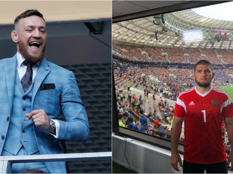Khabib Nurmagomedov not interested in street fight with Conor McGregor after UFC pair attend World Cup final