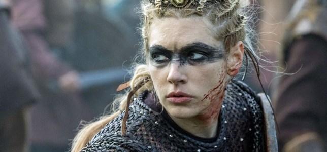 Katheryn Winnick as Legartha in Vikings