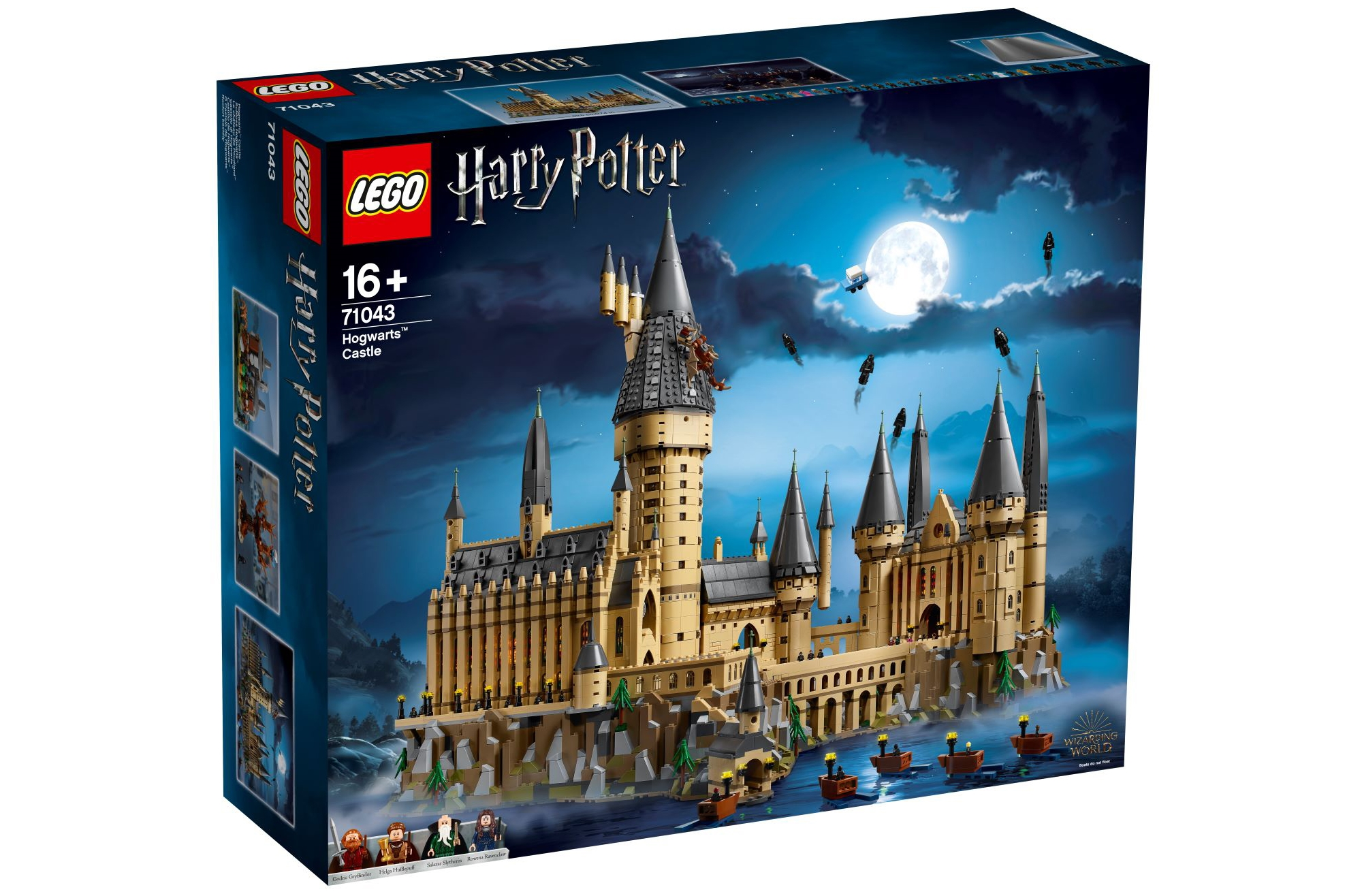 Lego Hogwarts Castle is the second biggest Lego set ever (and it's awesome)