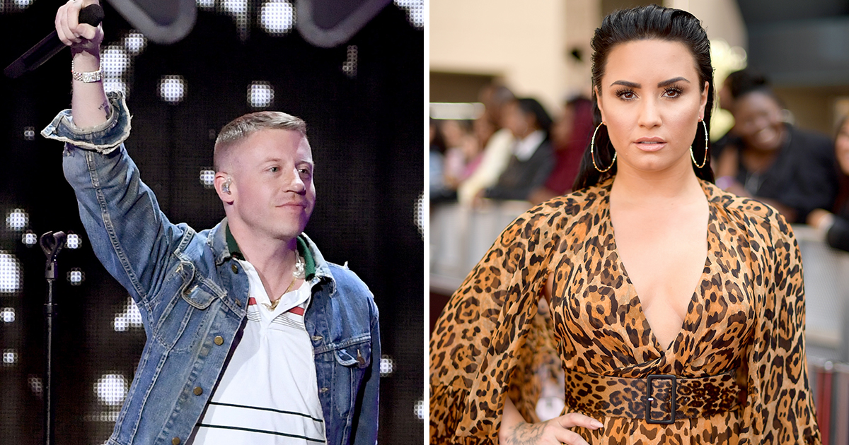 Macklemore offers Demi Lovato words of encouragement as he dedicates Otherside to his 'sister'