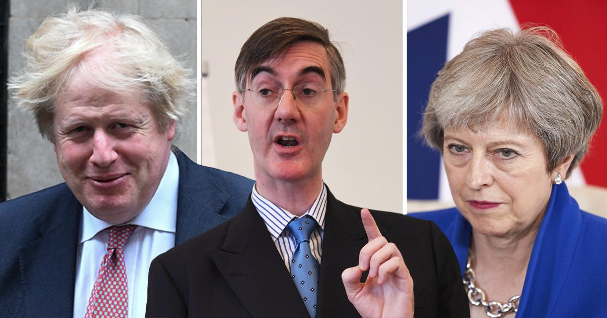 Boris Johnson backs Theresa May critic as Tory infighting ramps up