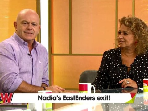 Nadia Sawalha shocked to hear what's happened to her EastEnders character as she reunites with Ross Kemp