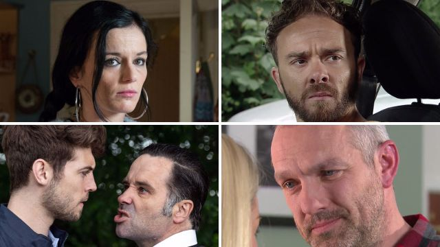 12 soap spoiler pictures: Coronation Street and Emmerdale death attacks, EastEnders crash and Glenn's rage in Hollyoaks