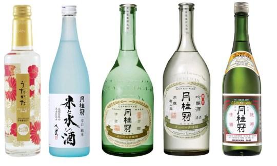 sake tasting at the Japan Centre