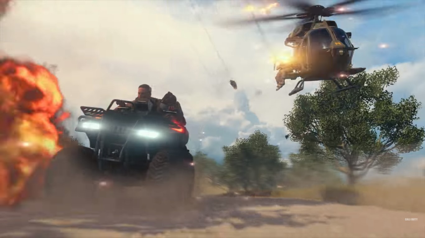 Call Of Duty: Black Ops 4 - vehicular combat comes to COD