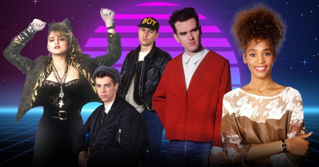 xx awesome songs from Top Of The Pops 1986