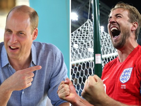 England beating Colombia is so legendary even Prince William tweets about it