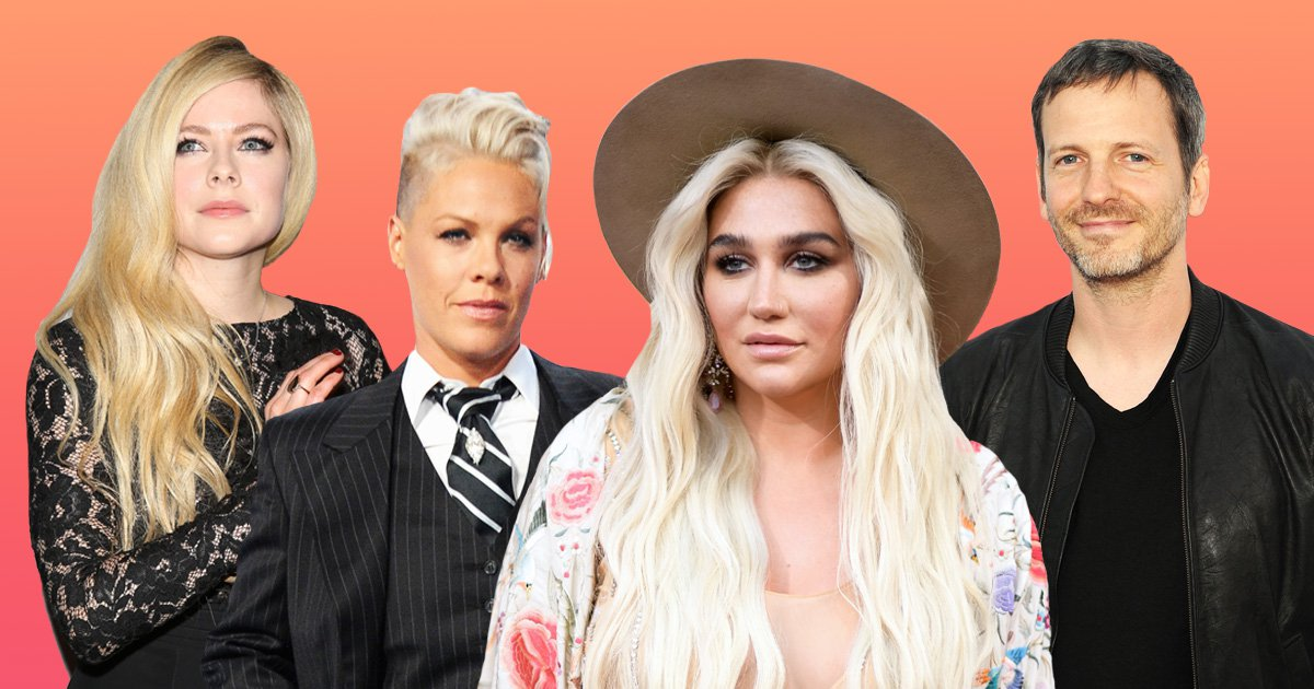 Pink and Avril Lavigne defend Kesha in Dr Luke trial