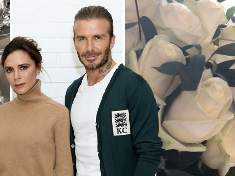 Victoria Beckham celebrates 19th anniversary – but David gives no mention as he's lost to the football