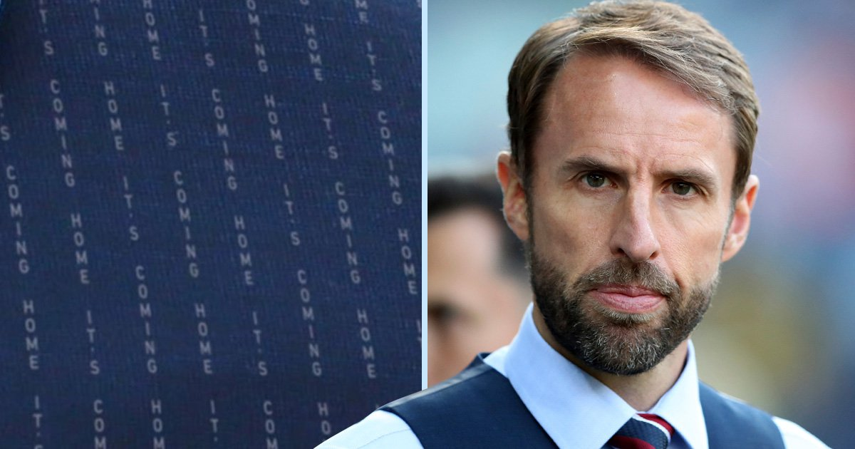 Gareth Southgate's 'It's coming home' waistcoat could soon become a reality