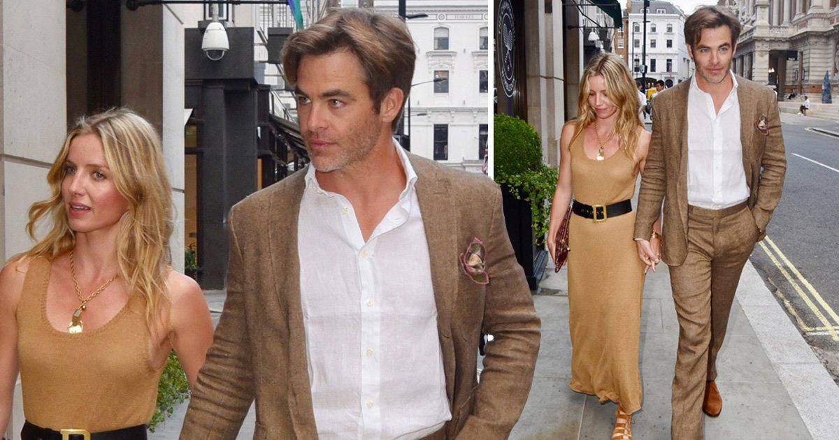 Chris Pine finally confirms romance with Peaky Blinders' Annabelle Wallis after getting pied off by Love Island's Samira