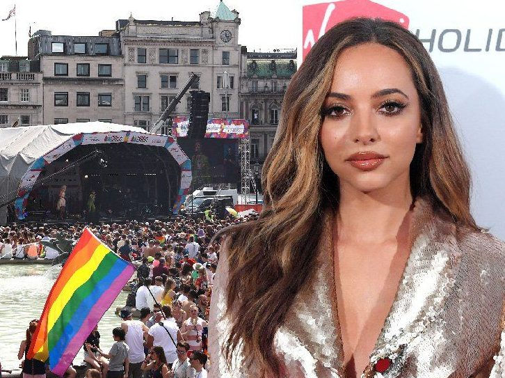 Little Mix's Jade Thirlwall and Love Island's Eyal lead celebrity Pride celebrations: 'We love you for who you are'