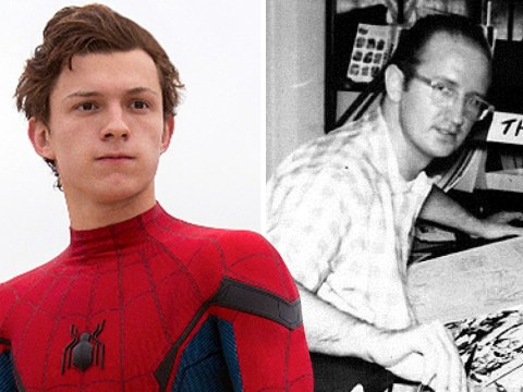 Tom Holland pays tribute to late Spider-Man co-creator Steve Ditko