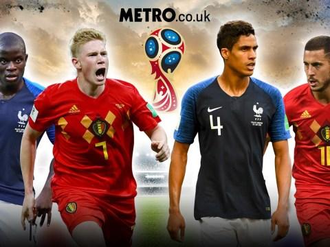 France vs Belgium: Three key battles for World Cup semi-final clash