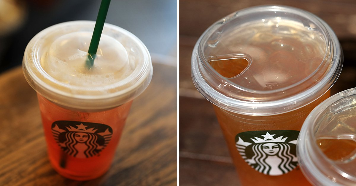 Starbucks to introduce new strawless cups in bid to end use of straws by 2020