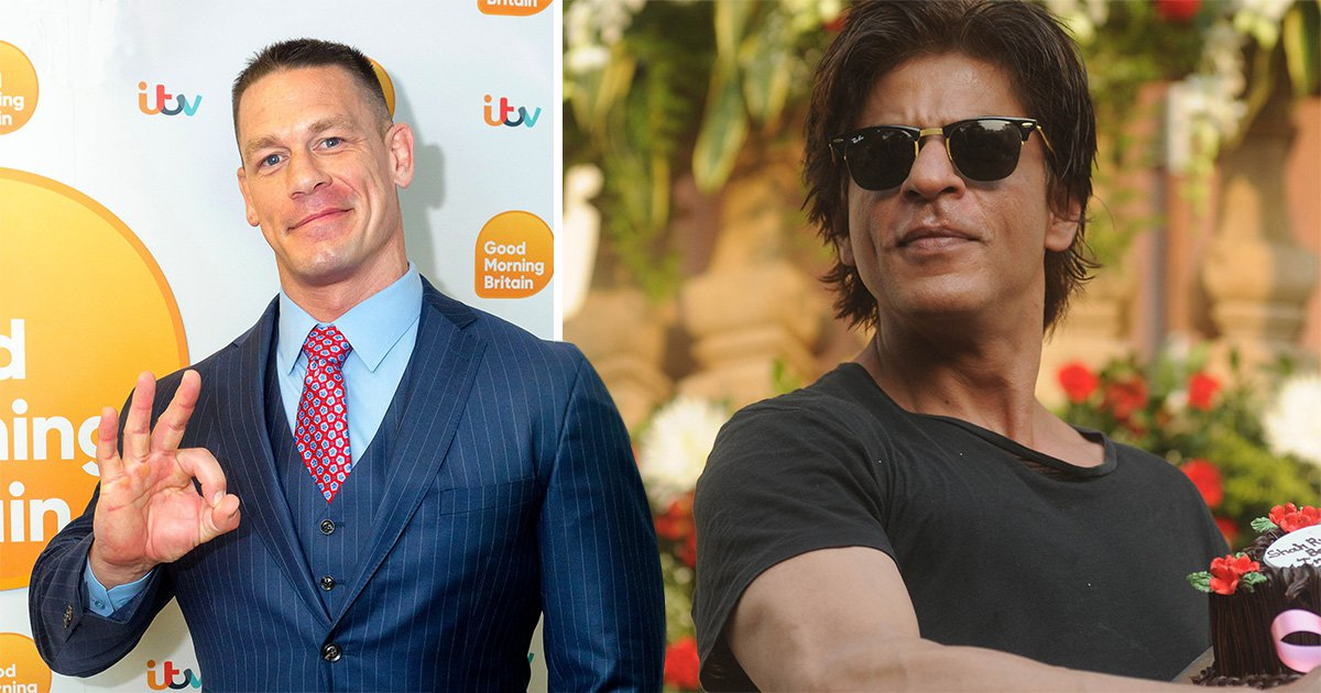 John Cena reveals he's inspired by Bollywood actor Shah Rukh Khan