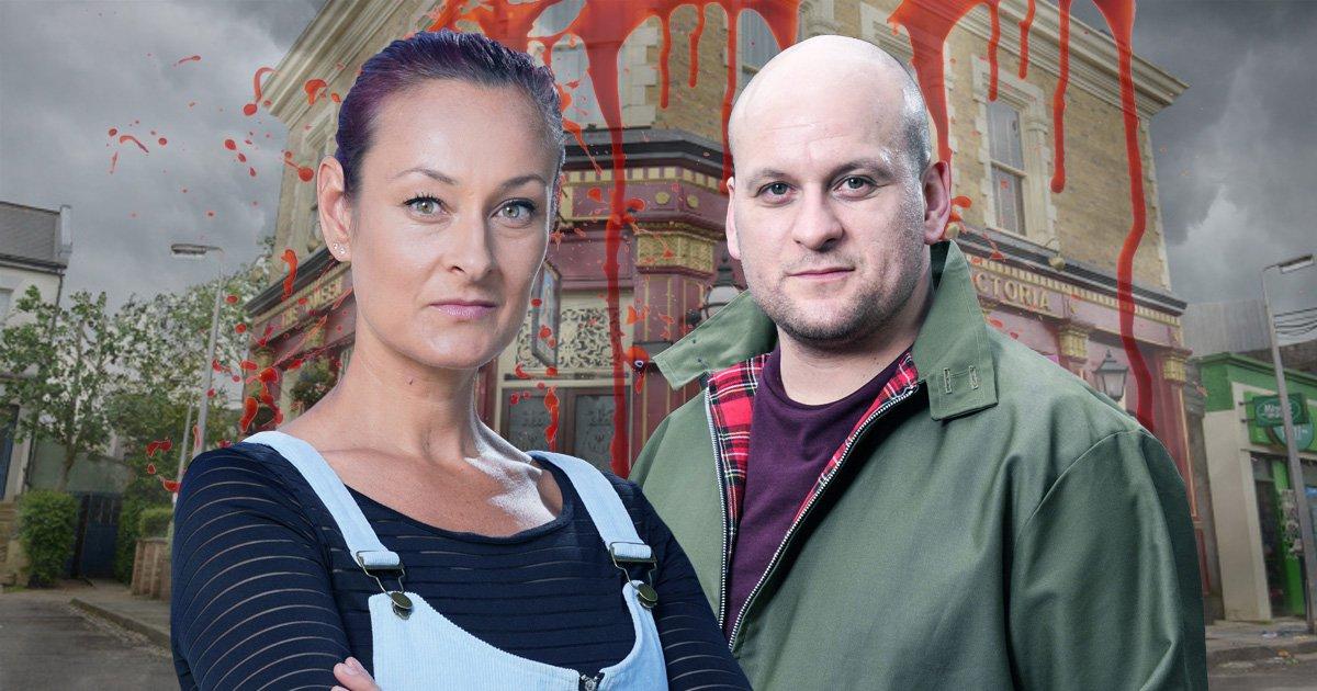 Tina may kill Stuart in EastEnders