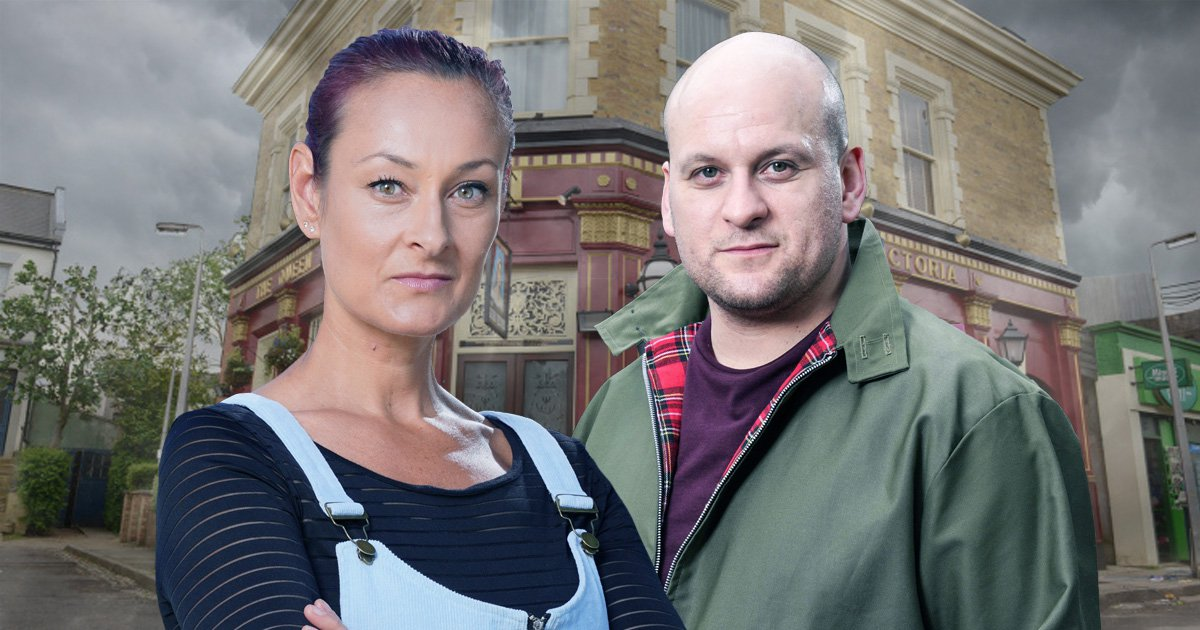 Tina and Stuart go to war as an EastEnders secret is revealed
