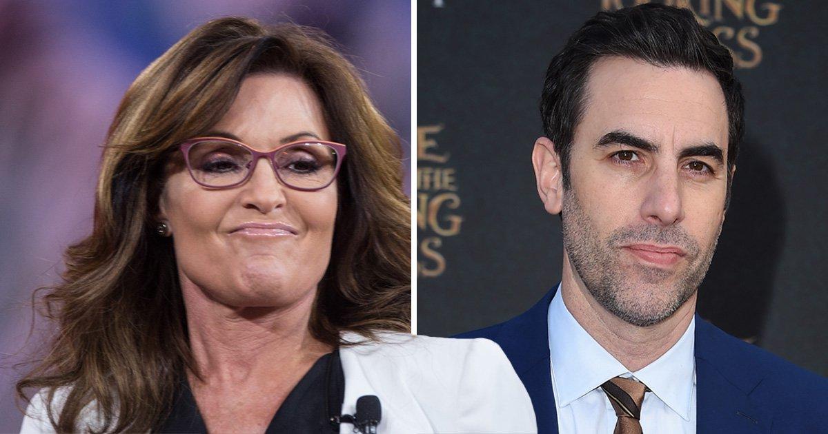 Sarah Palin slams 'truly sick' Sacha Baron Cohen as she's duped into skit