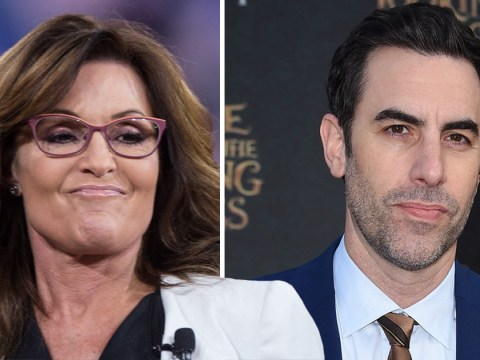 Sarah Palin slams 'truly sick' Sacha Baron Cohen as she's duped into skit