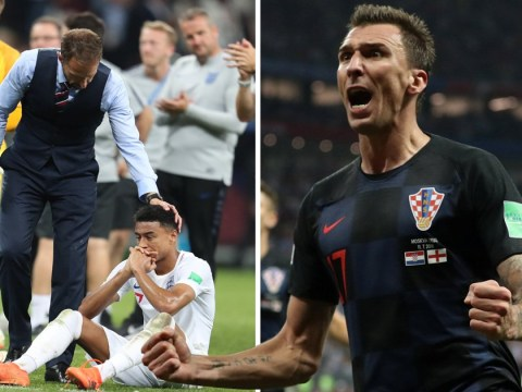 England suffer World Cup heartache after Mario Mandzukic fires Croatia into the final