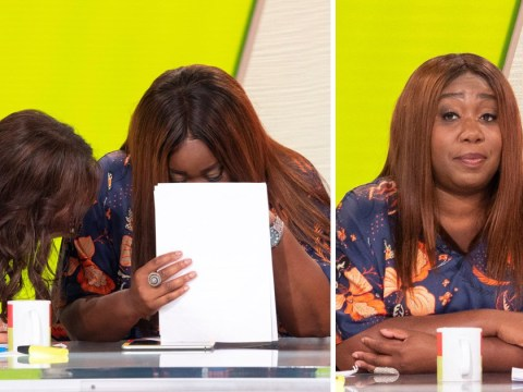 Chizzy Akudolu breaks down in tears as she talks about shopping addiction on Loose Women