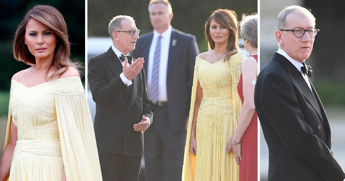 Philip May and Melania Trump are chalk and cheese but they still have to hang out