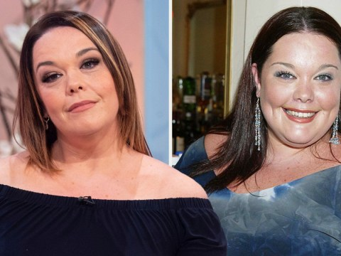 Lisa Riley reveals exercise that helped her shed 12 stone became 'too painful' due to excess skin – prompting her to get it removed