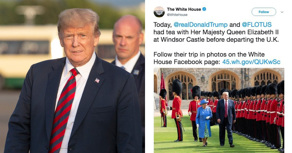 White House claims Scotland is not part of UK in awkward Twitter gaffe