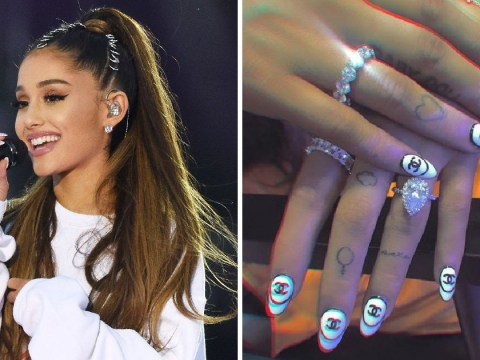 Ariana Grande reveals she's gone and got another tattoo tribute to fiance Pete Davidson